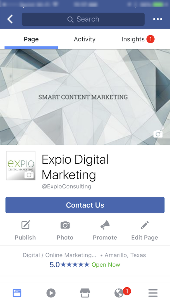 A Guide To Facebooks New Page Templates For Expio Digital - Facebook marketing templates